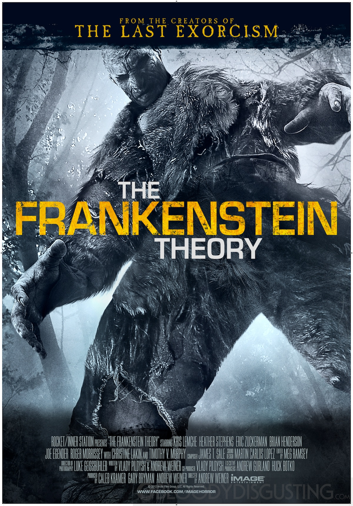 """""""The Frankenstein Theory"""": The found-footage horror genre"""