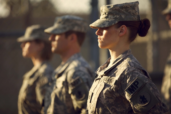 ***FILM STILL DO NOT PURGE***  Camp X-Ray 2014 Kristen Stewart