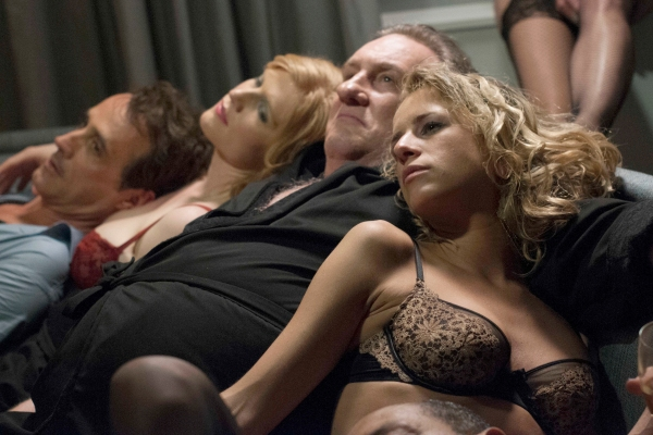 *** FILM STILL DO NOT PURGE **** Welcome to New york Gerard Depardieu (Devereaux) in Abel Ferrara's WELCOME TO NEW YORK. Courtesy of Nicole Rivelli. Copyright June Project, LLC. A Sundance Selects release.