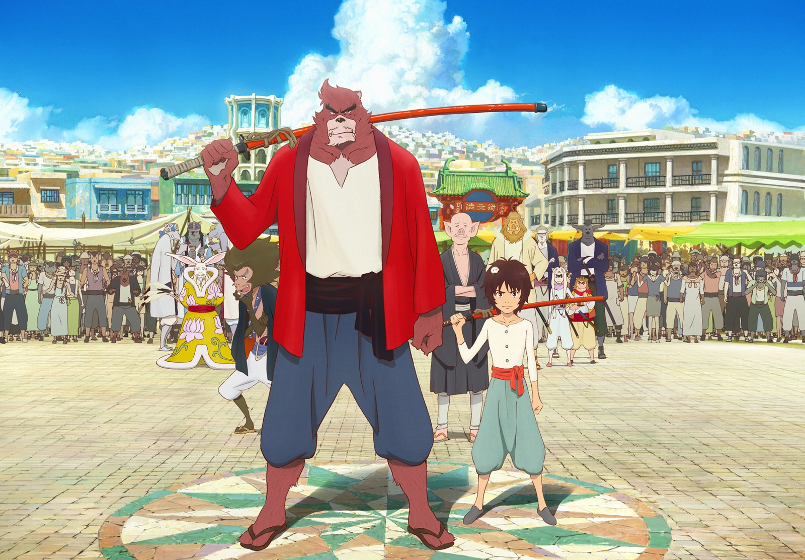 The boy the beast opens friday at sundance cinemas pg 13 159 three stars out of four the japanese anime